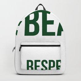 Respect The Beard Backpack