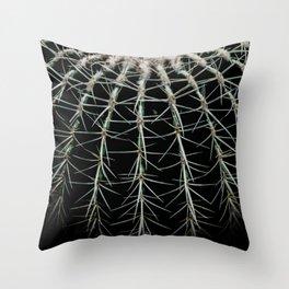 Carinate Cacti I Throw Pillow