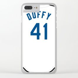 Danny Duffy Jersey Clear iPhone Case