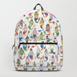 mermaid army IV Backpack