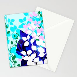 Blue Calico Cat Stationery Cards