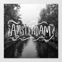 Amsterdam Haze Canvas Print