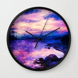 Abstract Sunburst Beach Wall Clock