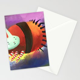 Bunny Tick Stationery Cards