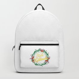 Mele Kalikimaka Hawaiian Merry Christmas Design Gift Backpack