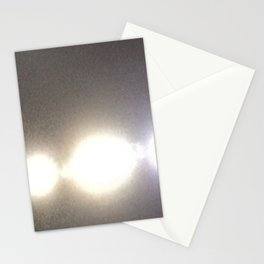 Abstracte Light Art in the Dark Version 31 Stationery Cards