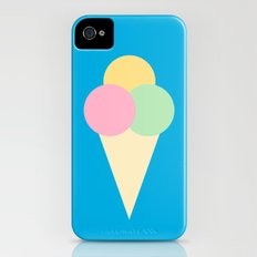 #4 Icecream iPhone (4, 4s) Slim Case