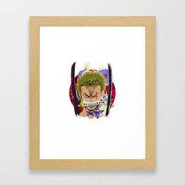 Zoro Framed Art Print