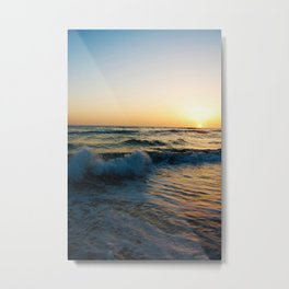 Ocean Sunset 4 Metal Print