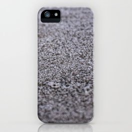 Frost on the North Wall iPhone Case
