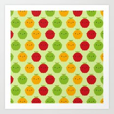 Cutie Fruity Art Print