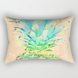 Pastel Pineapple Rectangular Pillow