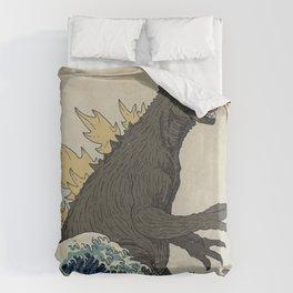 The Great Godzilla off Kanagawa Bettbezug