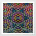 The Flower of Life (Sacred Geometry) 5 by klaraacel
