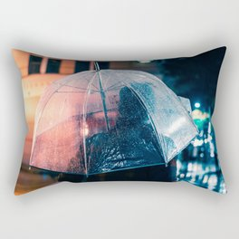Waiting for the Light - Memphis Photo Print Rectangular Pillow