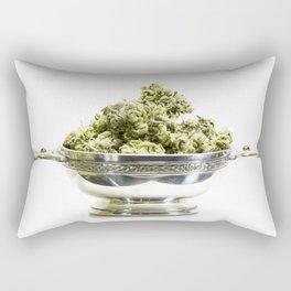 Irish Chalice of Green Rectangular Pillow
