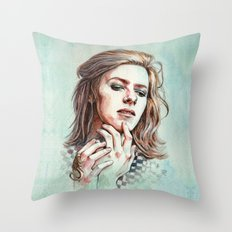 HunkyDory Throw Pillow