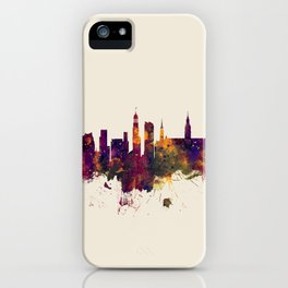 Hamburg Germany Skyline iPhone Case