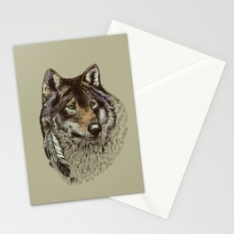 Wolfen Stationery Cards