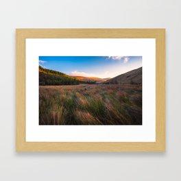 Orange Mountains - Ireland ( RR 258) Framed Art Print