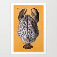 invertebrain Art Print