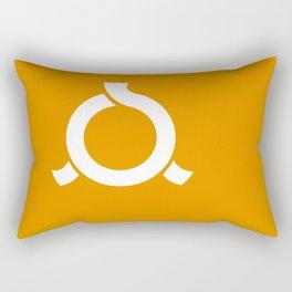 fukushima region flag japan prefecture Rectangular Pillow