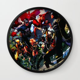 combined attack Wall Clock
