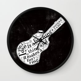 Altiro Studio | The Ring of Fire Wall Clock