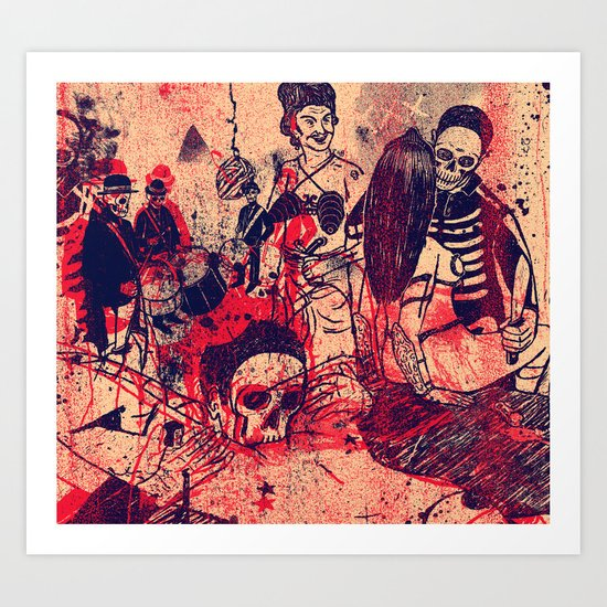 Boom Doom Ka Doom Art Print