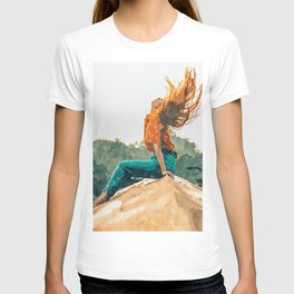Live Free #painting T-shirt