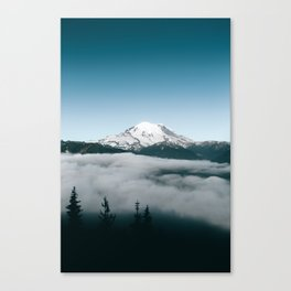 Mount Rainier X Canvas Print