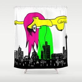 You make me sick Shower Curtain