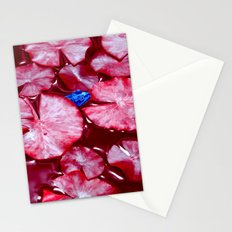 blue frog VI Stationery Cards