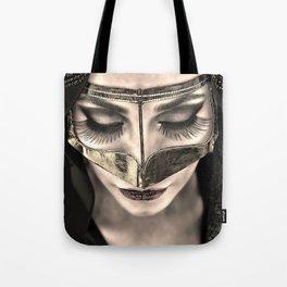 Neqab Portrait Tote Bag