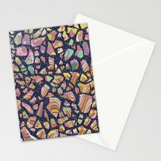Graphic Terrazzo Stationery Cards