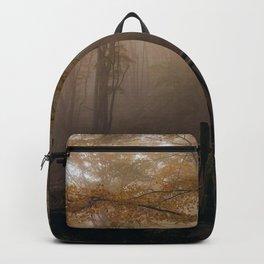 Small wooden bridge Backpack