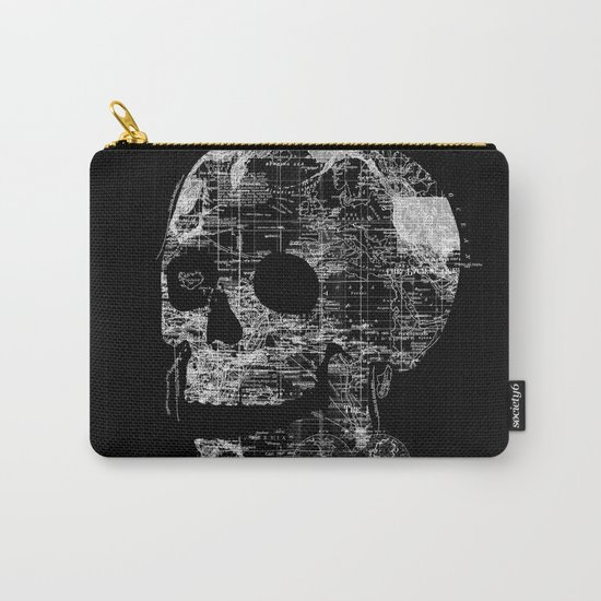 Skull Wanderlust Carry-All Pouch