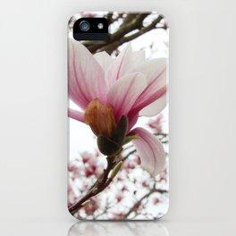 magnolia ice iPhone Case