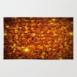 Copper Sparkle Rug