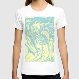 Marble of Yellow & Green T-shirt