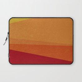 Stripe X Orange Peel Laptop Sleeve