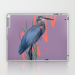 Great blue on the Bayou Laptop & iPad Skin