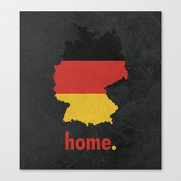 Germany Proud Canvas Print