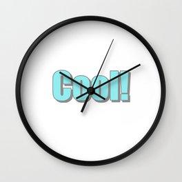 Cool! Wall Clock