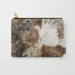 Tree Stump Ring Carry-All Pouch