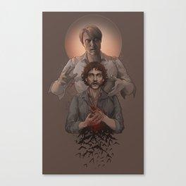 Hannibal - Halloween Canvas Print