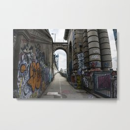 Art is not a Crime. Metal Print