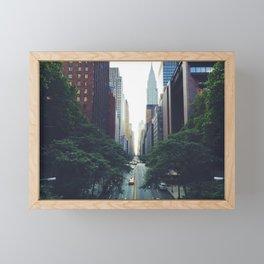 Morning in the Empire Framed Mini Art Print