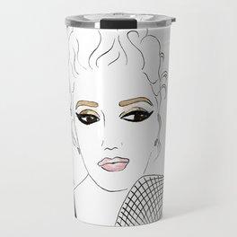 Pouty Stefani Travel Mug