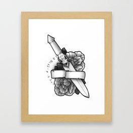 Knife Framed Art Print